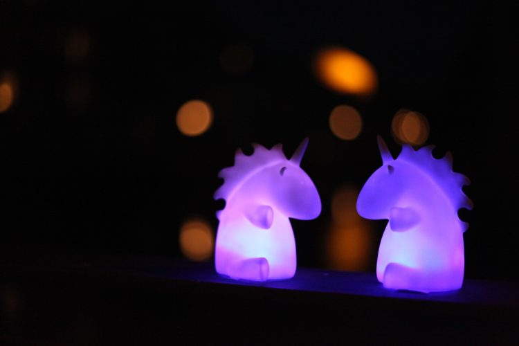 Unicorns Shining Mythical Creatures