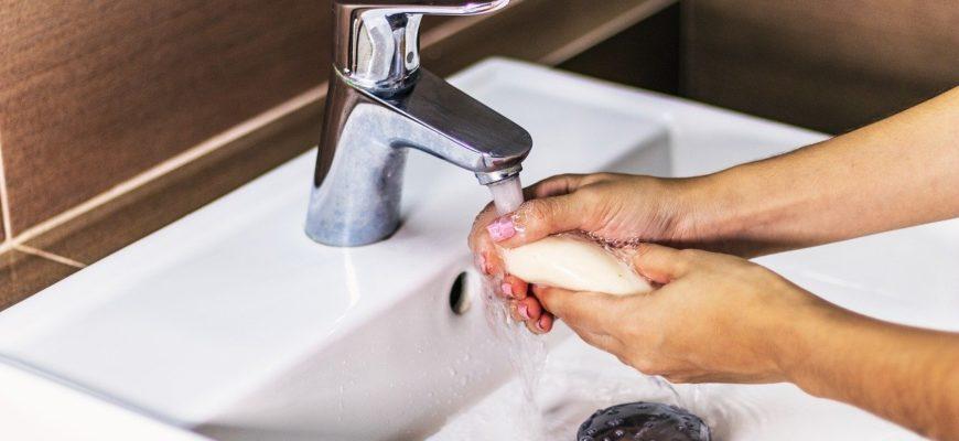 Soap Sink Hands Hygiene Bathroom  - robergo12 / Pixabay