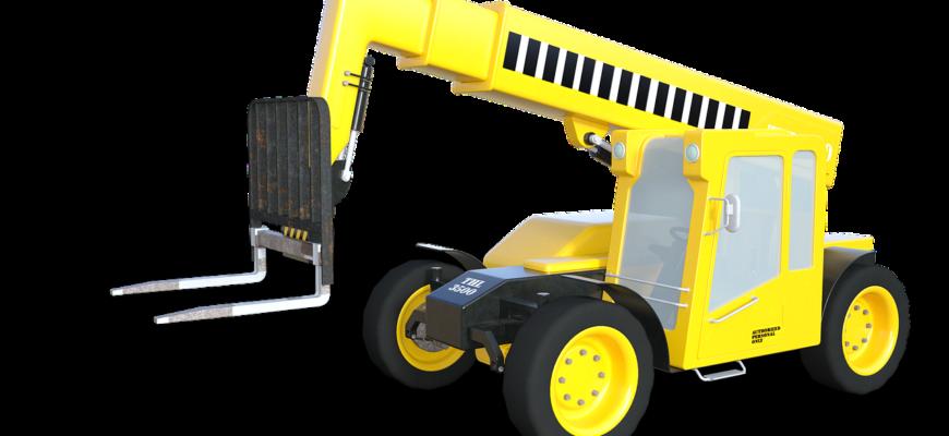Stock Raise Forklift Machine  - lppicture / Pixabay