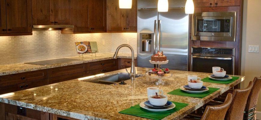 Kitchen Home Luxury Home Interior  - TA9141985 / Pixabay
